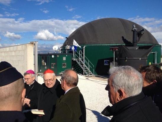 Rota Guido realizza impianto biogas per opera Padre Pio