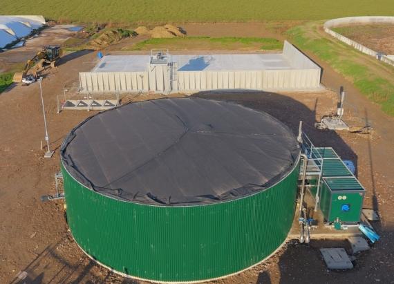 Biogas 100 kW Az Agr Quaini Giuseppe dettagli Rota Guido web
