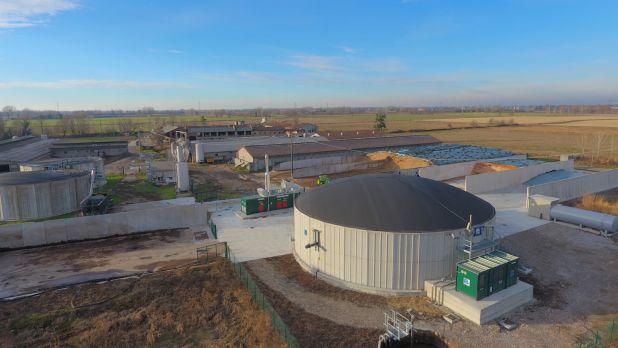 Impianto biogas 250 kW