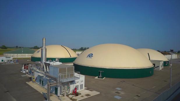 Biogas Azienda agricola Fugazza