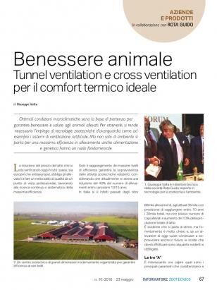 Informatore Zootecnico Pag.67 Benessere animale