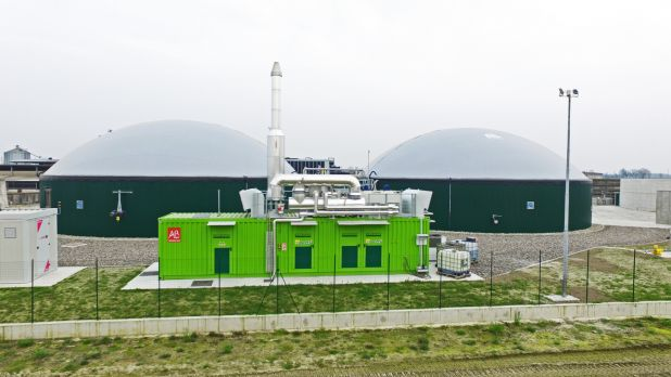 Impianto biogas 300 kw BONFANTI F1
