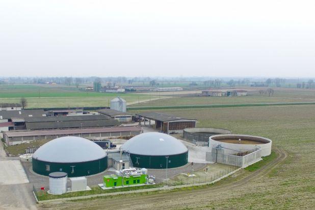 Impianto biogas 300 kw BONFANTI F4