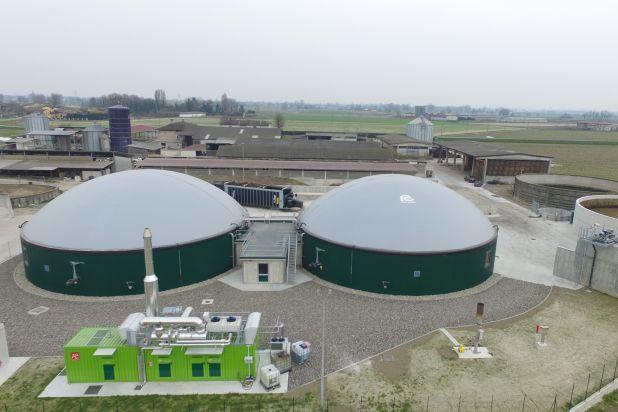 Impianto biogas 300 kw BONFANTI F5