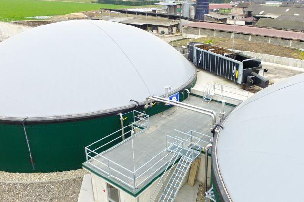 Impianto biogas 300 kw BONFANTI F6