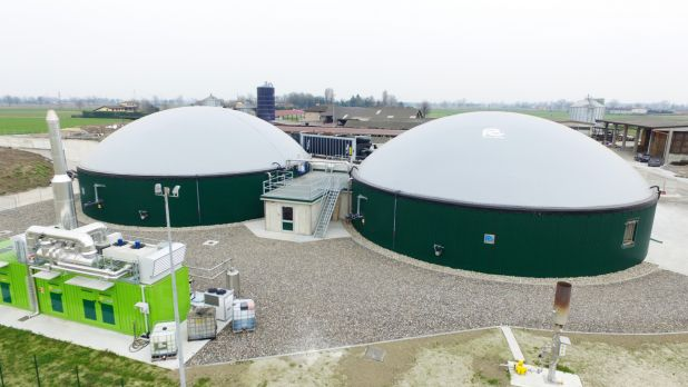 Impianto biogas 300 kw BONFANTI F8