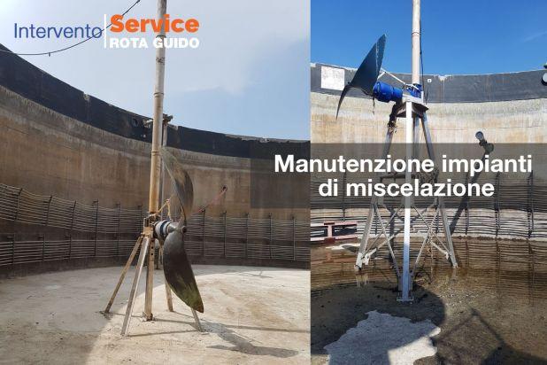 Manutenzione impianti di miscelazione 1