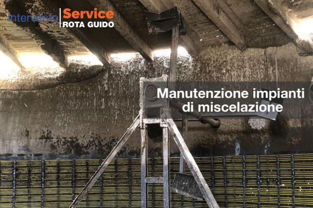 Manutenzione impianti di miscelazione con paddelgigant