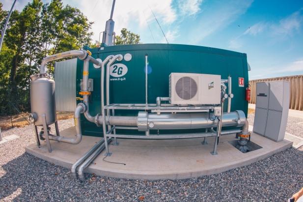 Impianto biogas Nolli