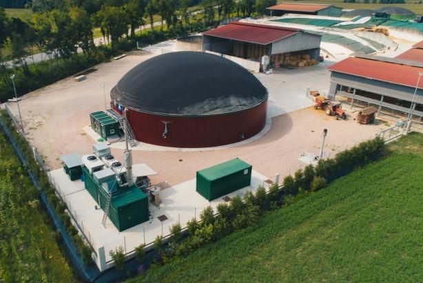 Impianto Biogas 300 KW