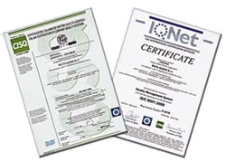 Certificate CISQ