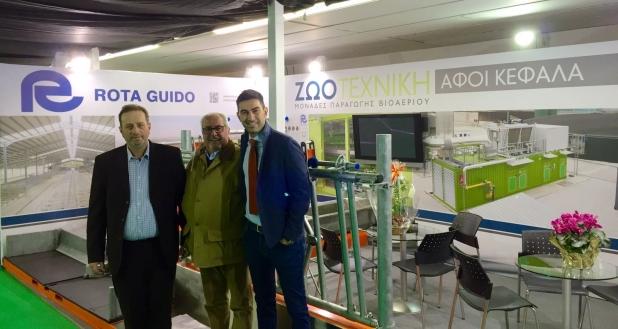Stand Rota Guido - Fiera Zootechnia 2017 - Salonicco Grecia